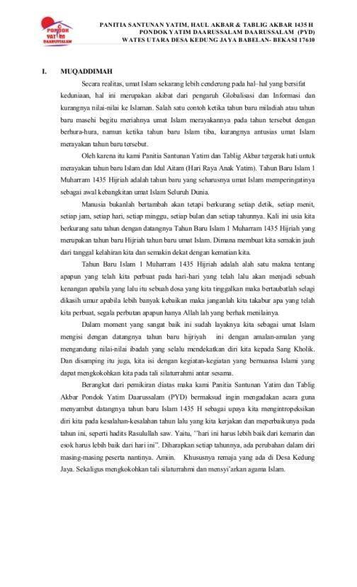 Contoh Teks Ceramah Khutbah Dan Pidato Untuk Tahun Baru Hijriah