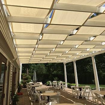 Retractable Waterproof Pergola Canopy