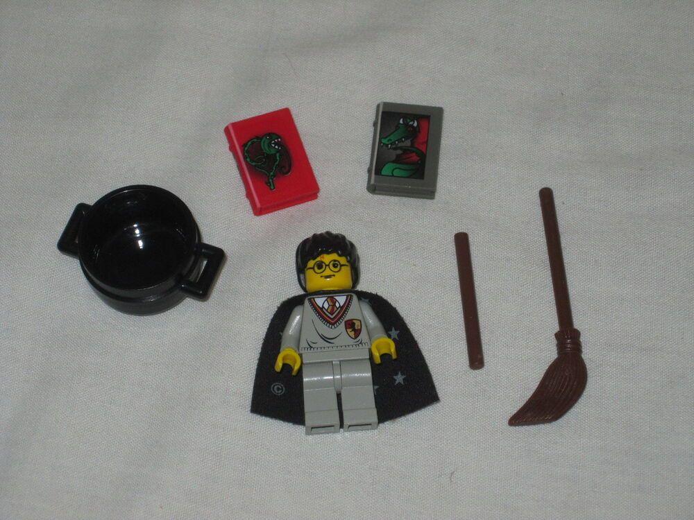 LEGO HARRY POTTER MINIFIGURE PROFESSOR QUIRRELL//VOLDEMONT SET 4702