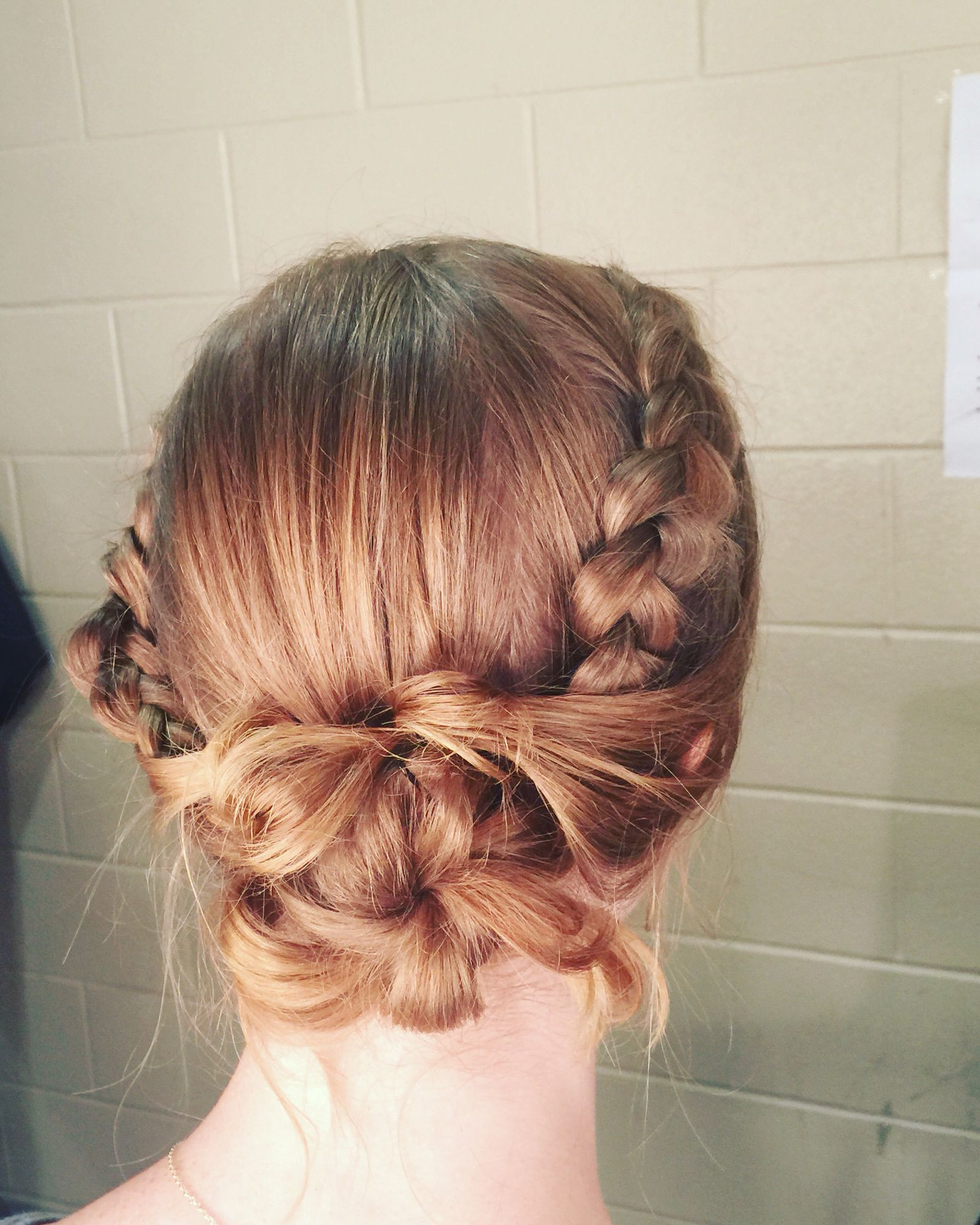Tspa san antonio braid updo hairjule pinterest updo