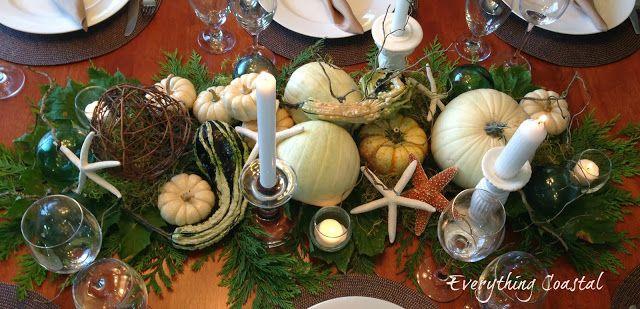 Autumn Coastal Dinner Party - Caron's Beach House