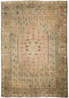 A late 19th century antique Turkish Ghiordes (Giordes) rug