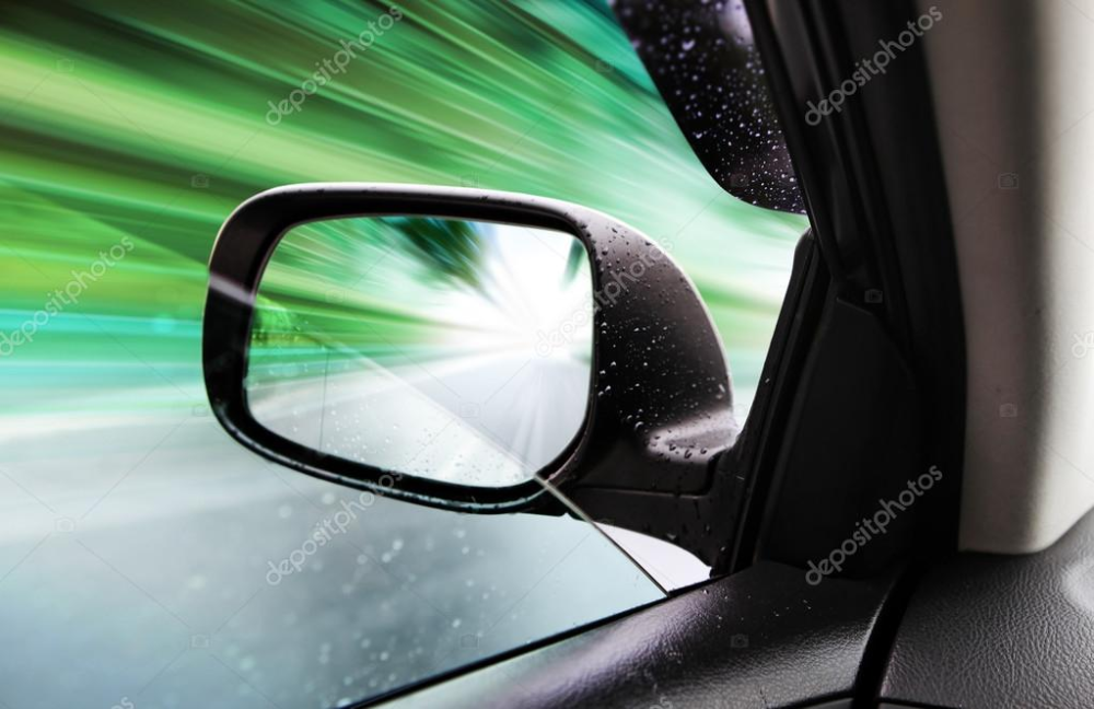 Download Rear View Mirror Of Speed Car Stock Image Rear View Mirror Car Photos Rear View