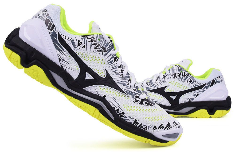 Mizuno Stealth 5 Handball Shoes Badminton Shoes Unisex Indoor Sport Racquet Nwt Badminton Shoes Badminton Indoor Sports