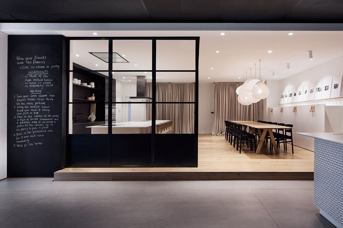 Carole Whiting Designed A Flagship Showroom For Vzug Swiss Fair Designed Kitchen Appliances 2018