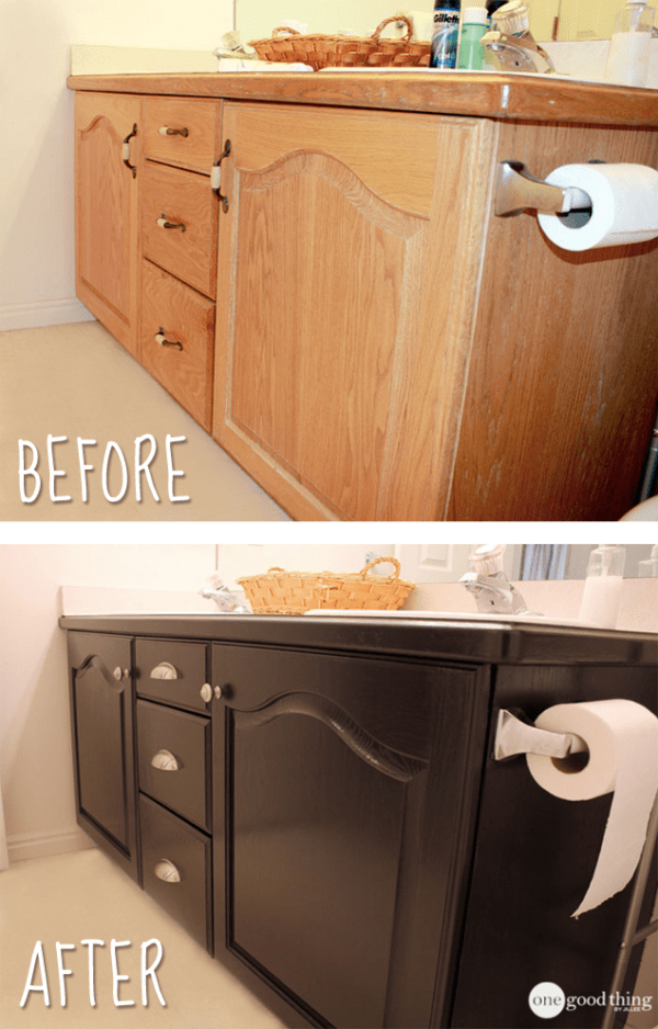 Give Your Bathroom Vanity A Facelift
