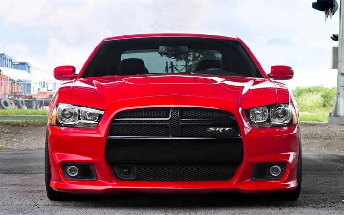 download wallpapers dodge charger srt front view 2017 cars red rh pinterest com