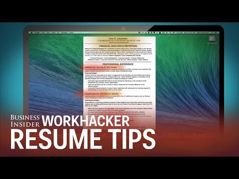 resume heat map what a recruiter looks at on your resume job