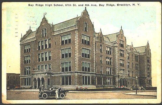 Bay Ridge High School Brooklyn New York Brooklyn Neighborhoods Brooklyn Nyc