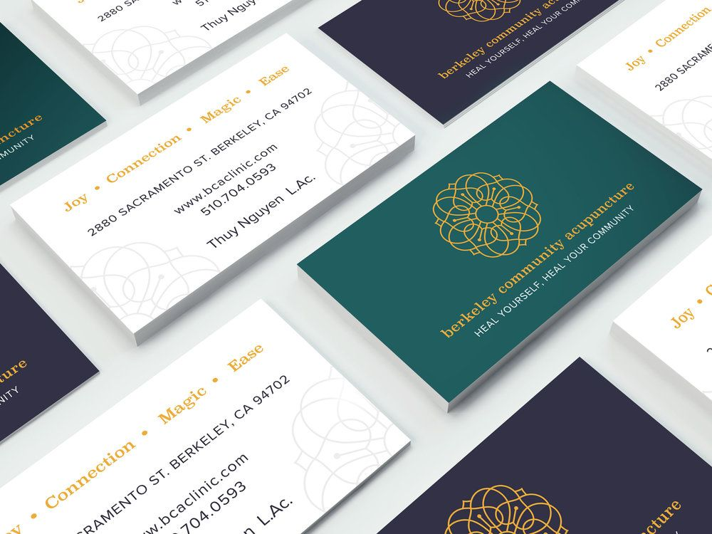 Business card design by The Look & The Feel #businessca | L&F ...