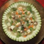 Winter Melon and Seafood Soup