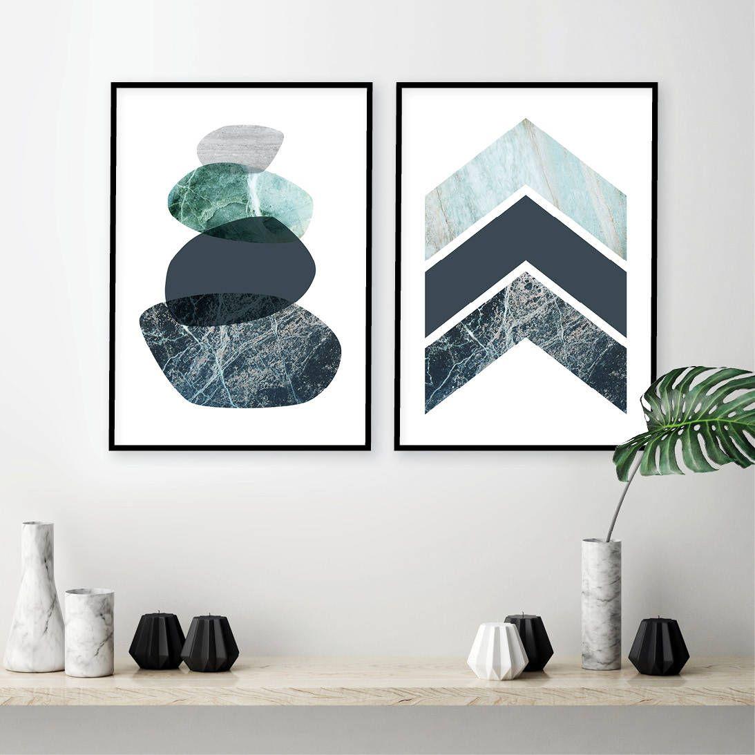 Set Of 2 Printable Posters Of Balancing Stones Chevrons Scandinavian Downloadable Prints Minimalist Scandi Wall Art Modern Bedroom Wall Art Posters Printable Bedroom Wall Art Minimalist Wall Art