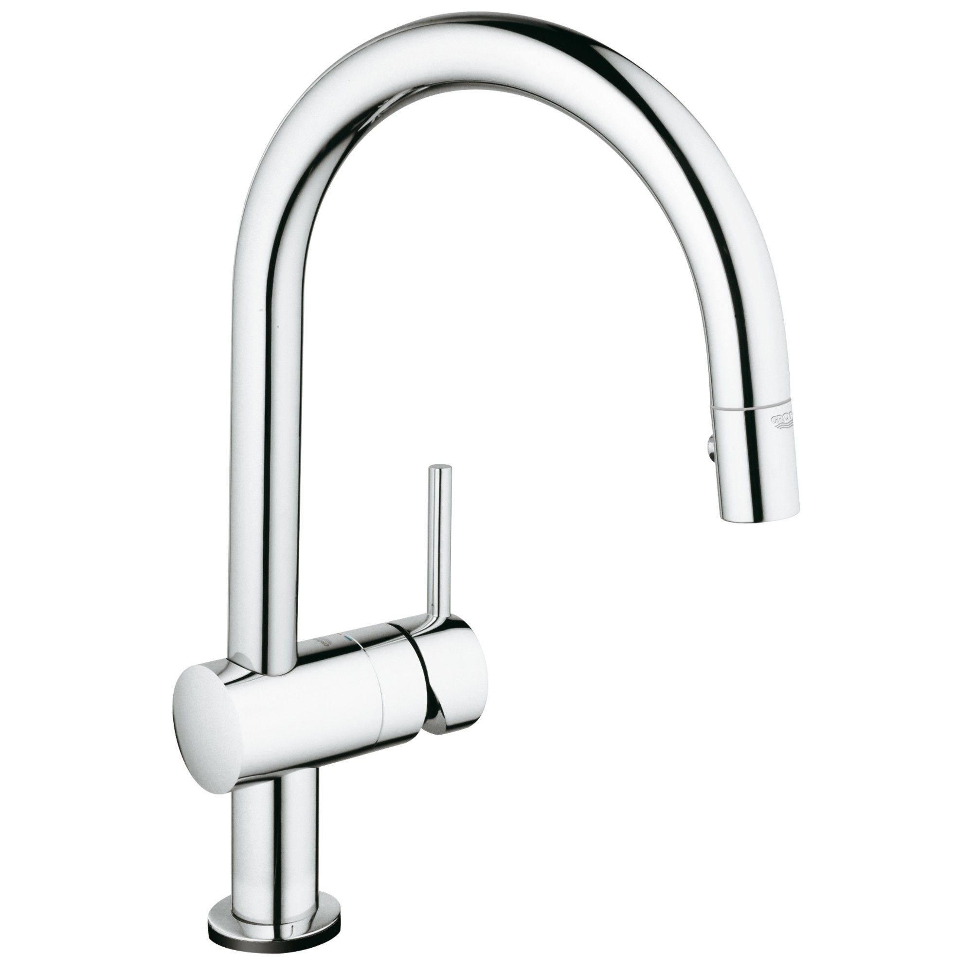 Grohe America Inc 31 359 Minta Pull Down Spray Kitchen Faucet