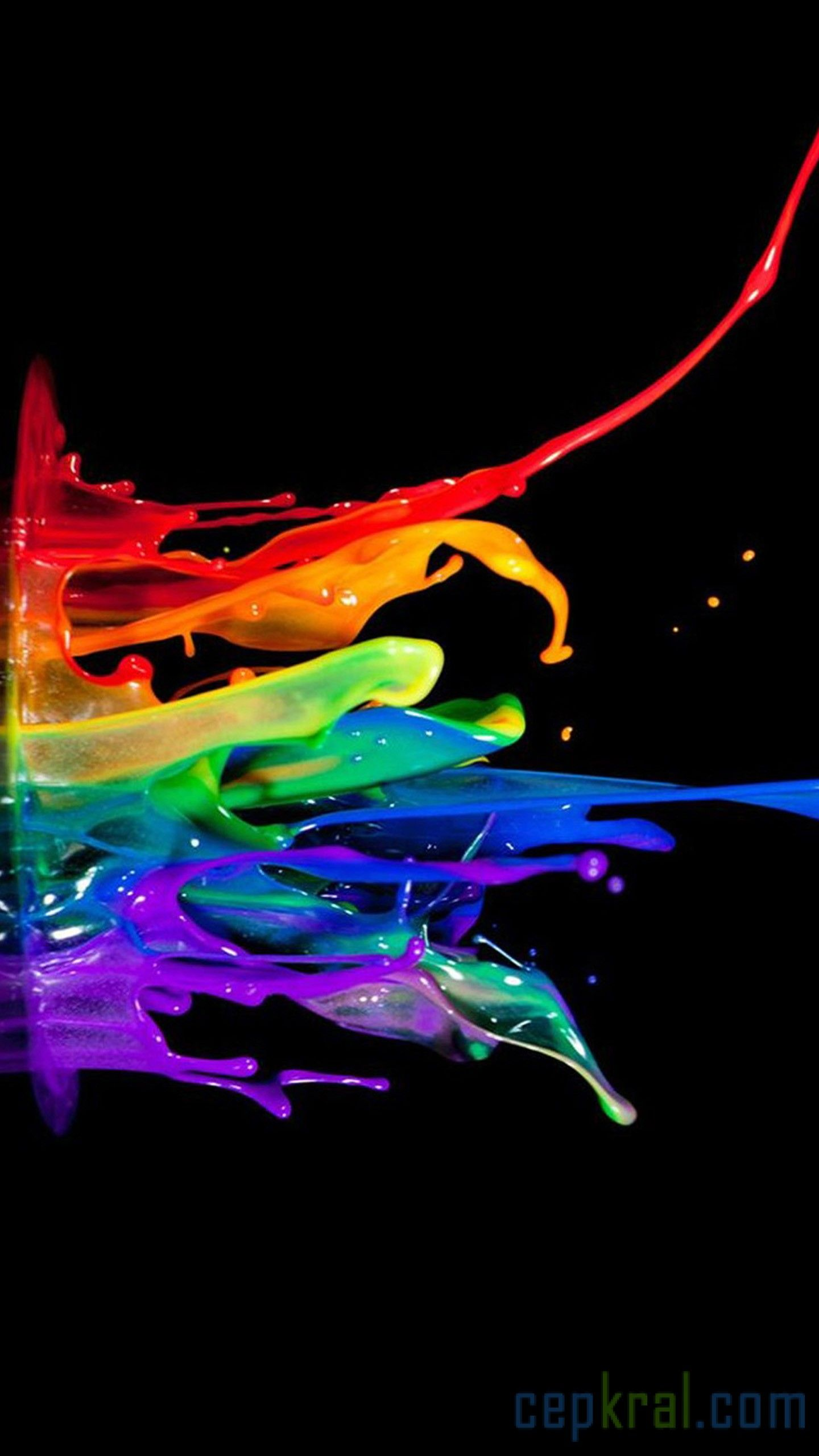 Wallpapers water, light, Paint, sculpture, colorfulness