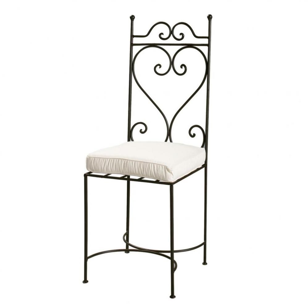 Wrought Iron Chair In Brown Maisons Du Monde Chaise Fer Forge Chaise En Fer Meuble Fer