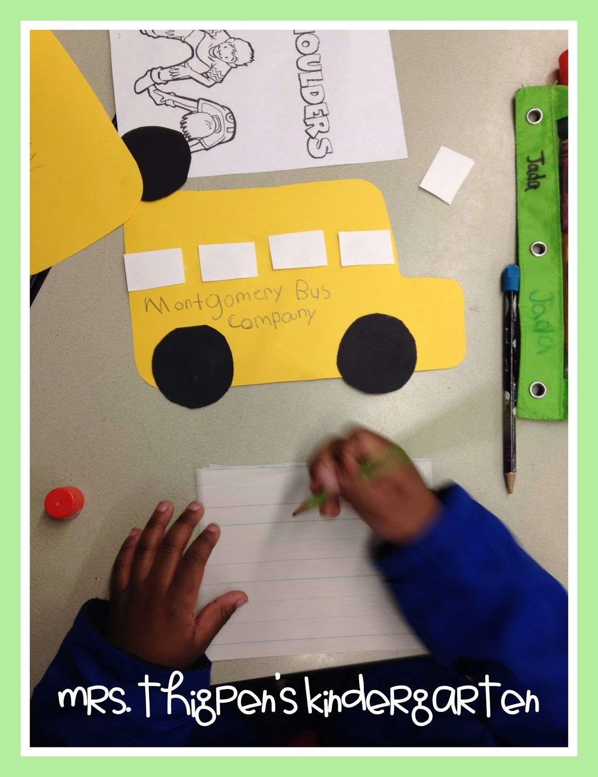 Mrs Thigpen S Kindergarten Rosa Parks Amp Ruby Bridges Black History Month Activities