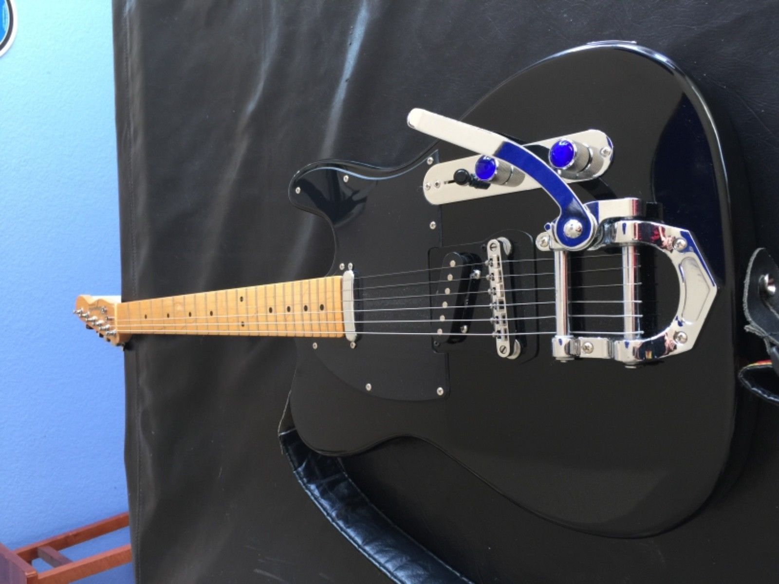 Telecaster Very Nice Electric Custom Made Haywire Guitar With Whammy