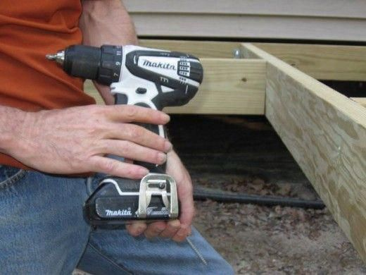 Power tool most used on this deck | Building a deck, Diy deck
