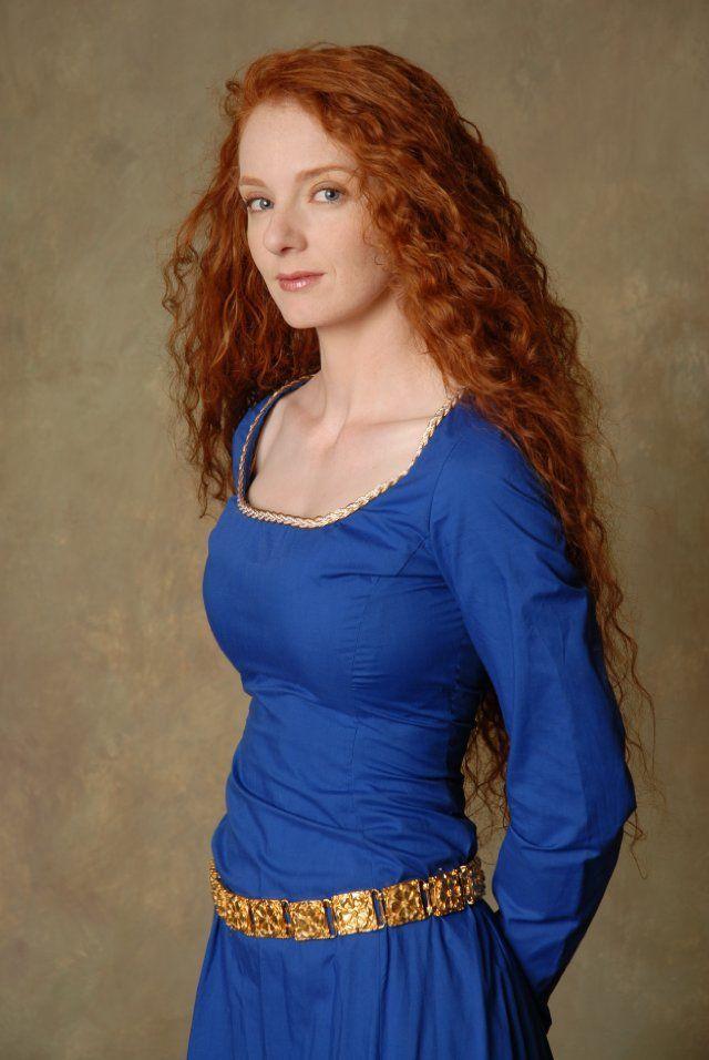 Mature pretty redhead