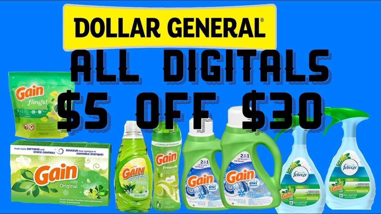 Dollar General Coupons $5 Dollars Off Review