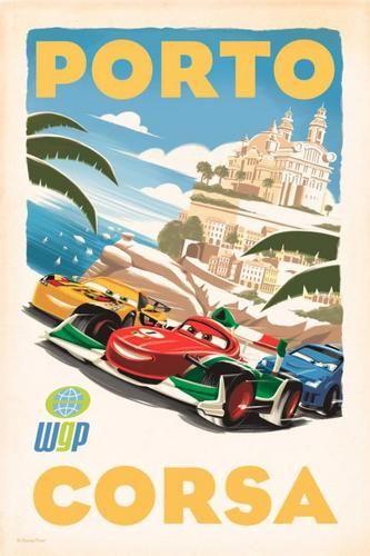 Disney Pixar Cars 2 Photo: CARS 2 Posters