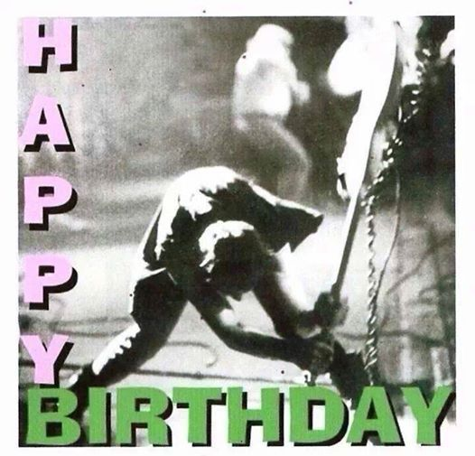 Pin By Digital Diva Deluxe On Rock Roll Happy Birthday Cards Birthday Cards Happy Mondays