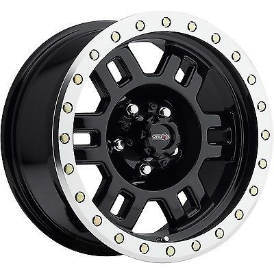 17x8 5 Black Machined Vision Manx 398 5x4 5 0 Rims 37x12 5x17 Tires Black Wheels Manx Wheel Rims