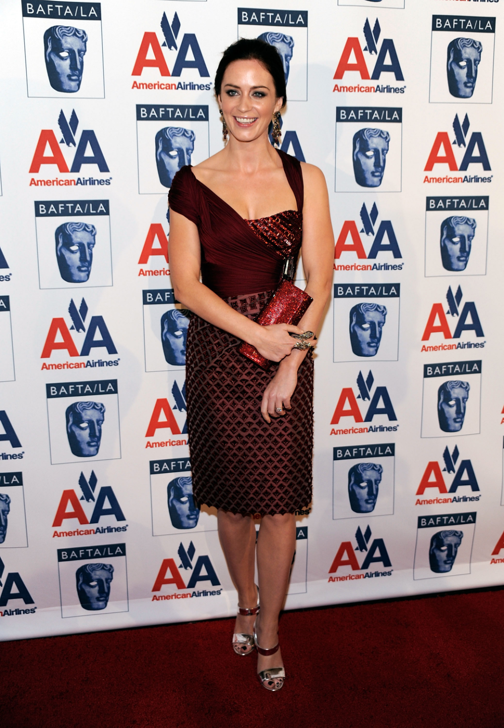 43 Pics Emily Blunt At The 8th Annual British Academy Of Film And Television Arts Britannia Awards A The Young Victoria Emily Blunt Mtv Europe Music Awards