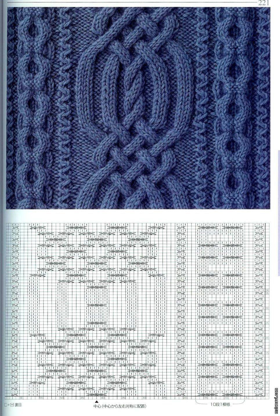 SOLO PUNTOS: Puntos cruzados tricot | grecas | Ganchillo, Tricotar y ...