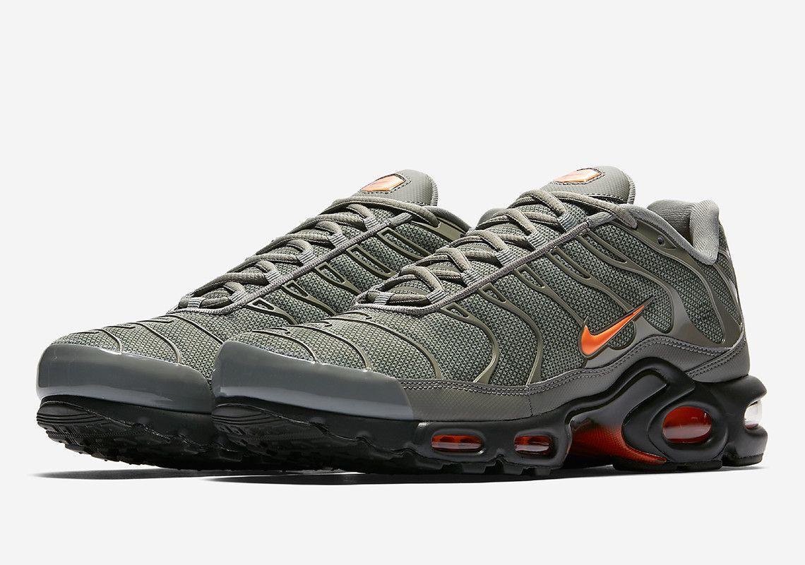 25a5221e2a62 Nike Air Max Plus Grey and Orange AJ2013-003 Release Info ...