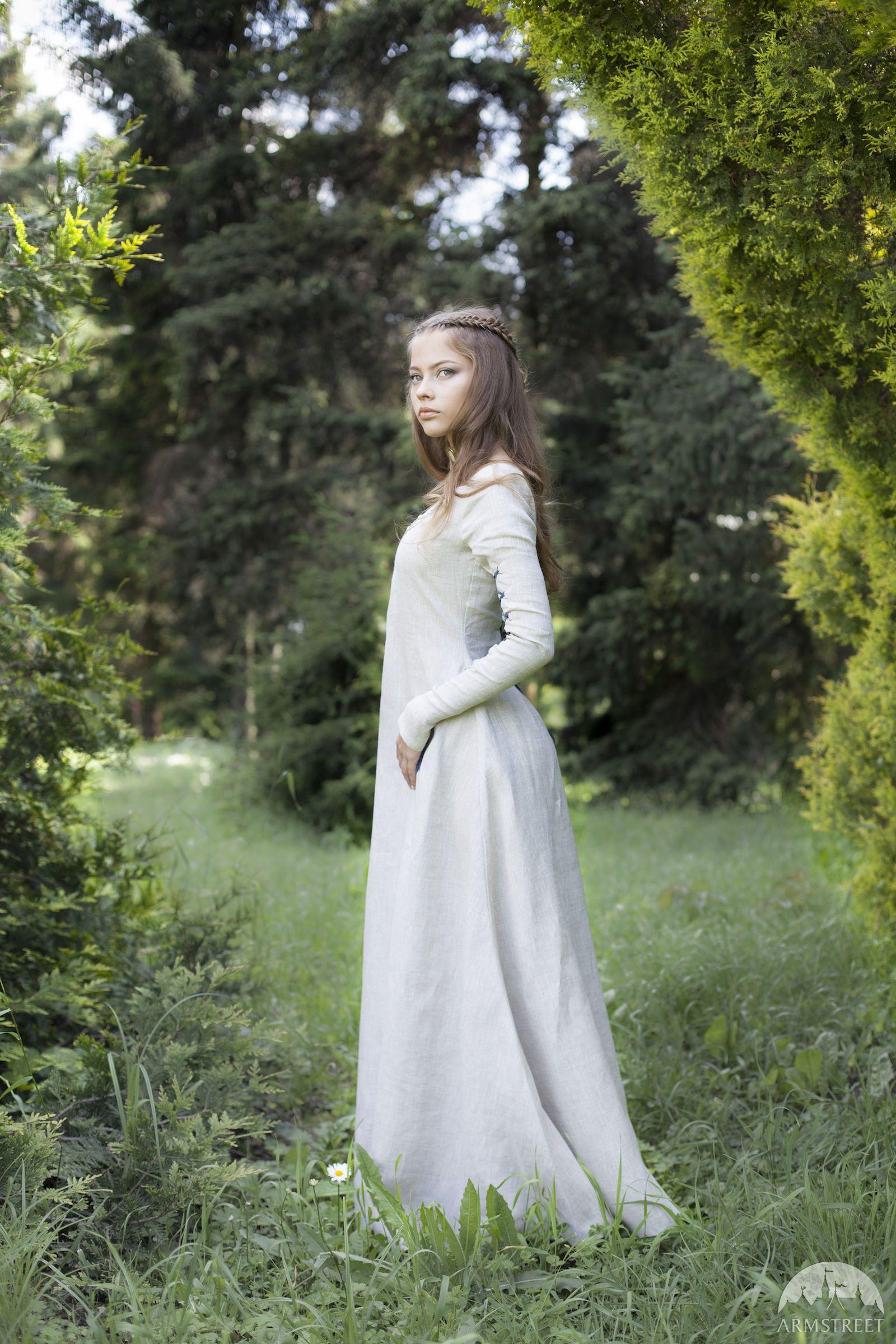 """""""Fairy Tale"""" Linen Dress   Fairy tales   Fantasy dress ..."""