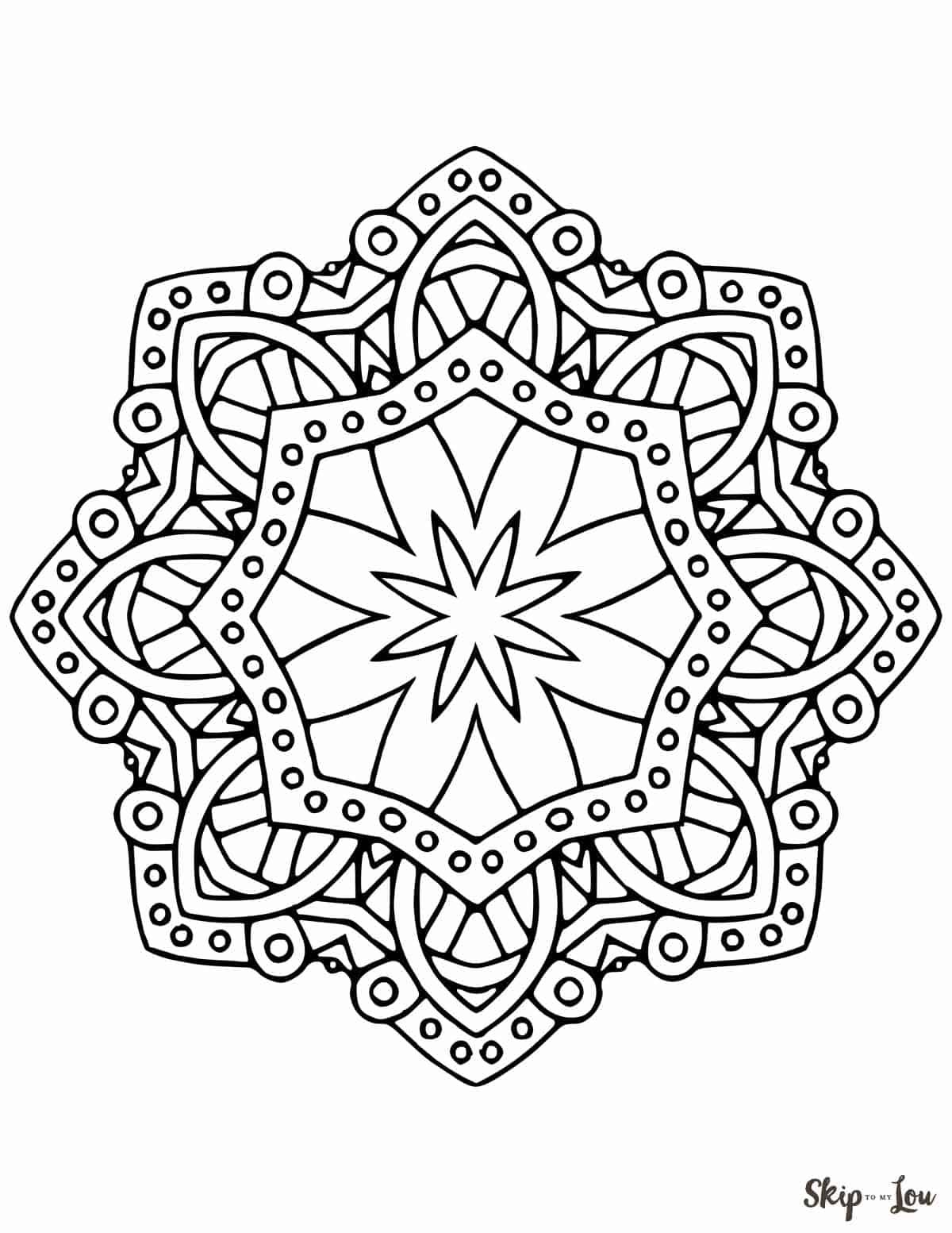 Beautiful Free Mandala Coloring Pages In 2020 Mandala Coloring Pages Coloring Pages Mandala Coloring