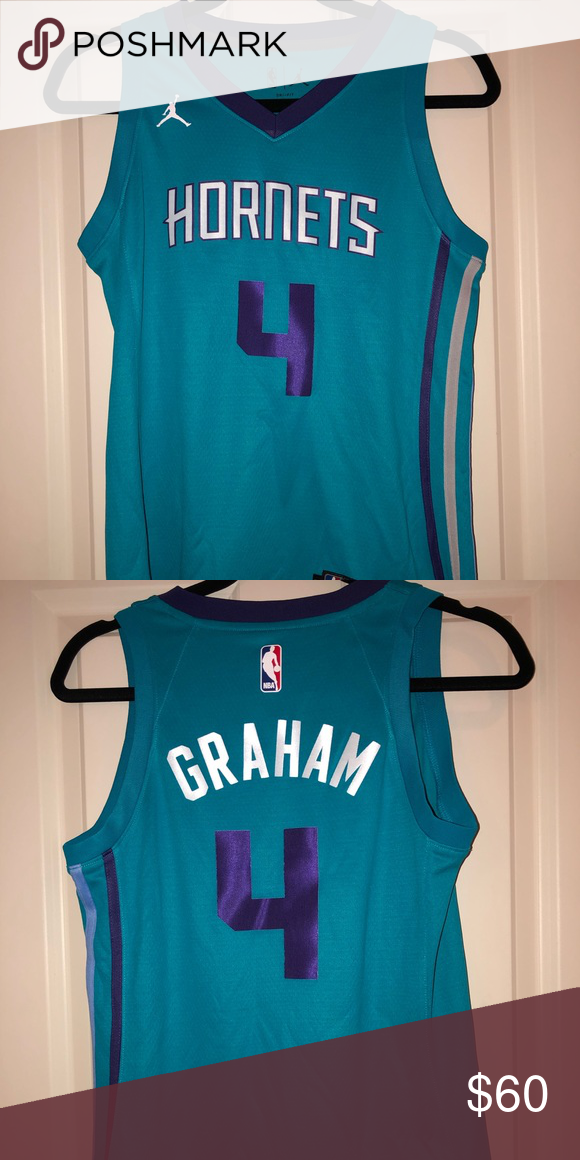 Charlotte Hornets Devonte Graham Icon Edition Teal Swingman Jersey