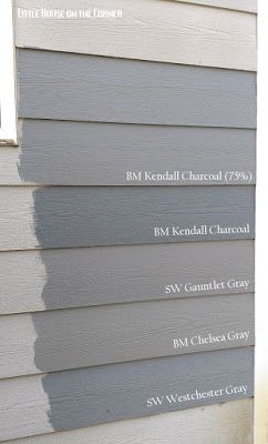 Little House on the Corner: Home Exterior Painting Reveal: Quest for the Perfect Gray