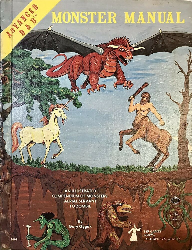 Advanced Dungeons And Dragons Monster Manual Special Reference Work Advanced Dungeons And Dragons Earn Money Online Dungeons And Dragons
