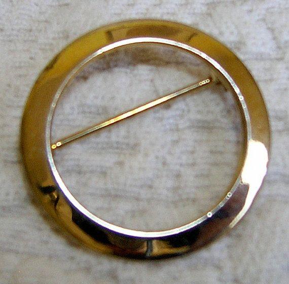 CIRCLE PIN, 1960s, the real thing