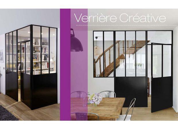 Verrière d\'atelier Créative | Lapeyre | VERRIERES | Pinterest ...