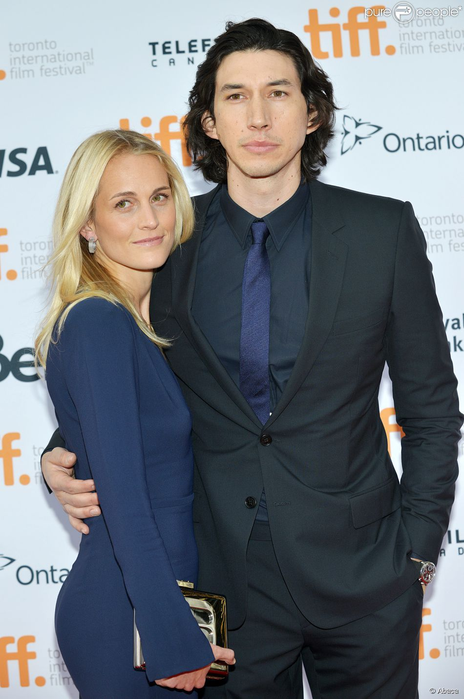 Adam Driver And His Lovely Wife Joanne Whom He Met At Juilliard