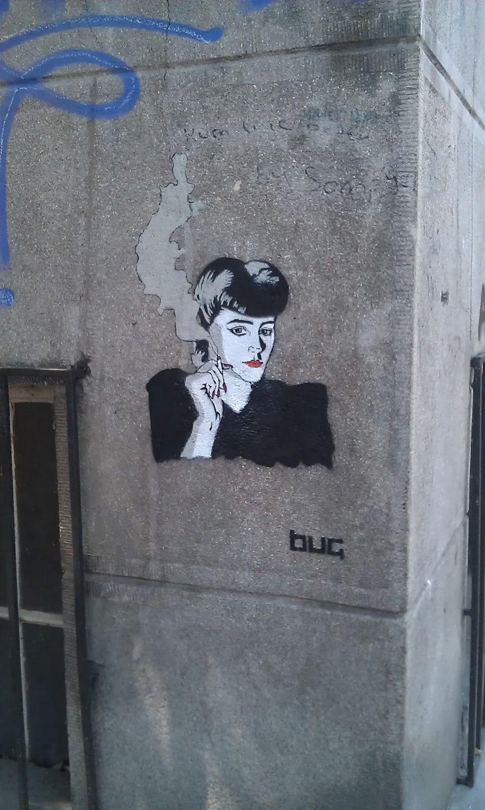 Belgrade Stencil in English