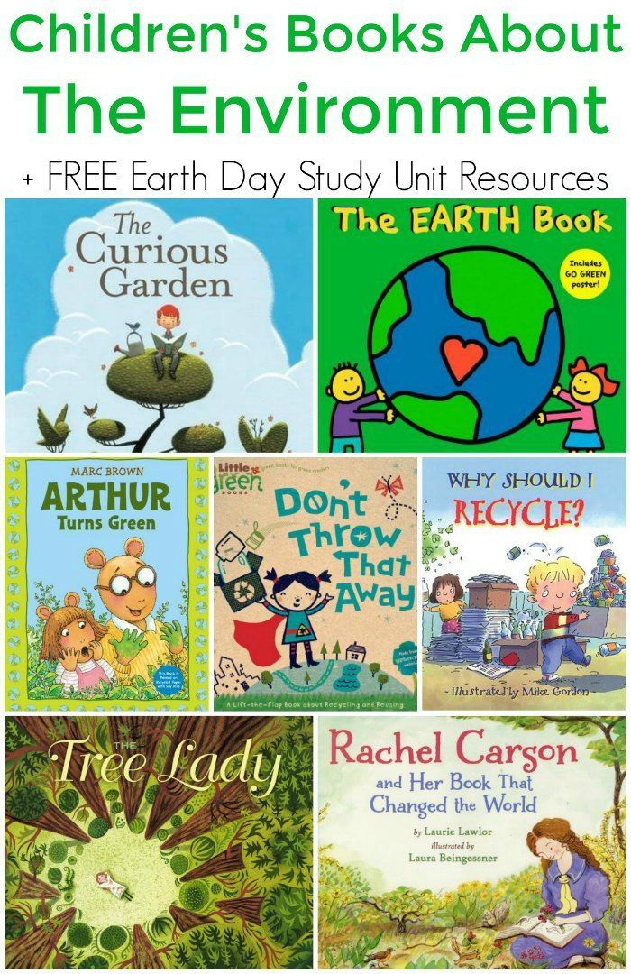 childrens books about the environment