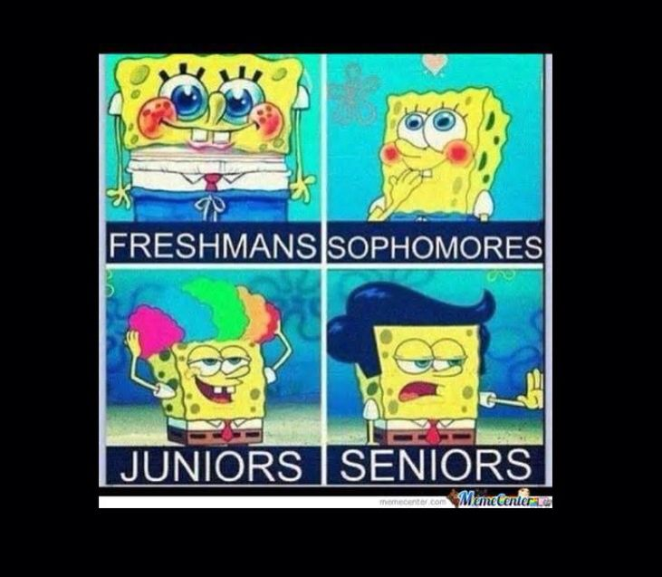 I'm stuck in the freshman stage