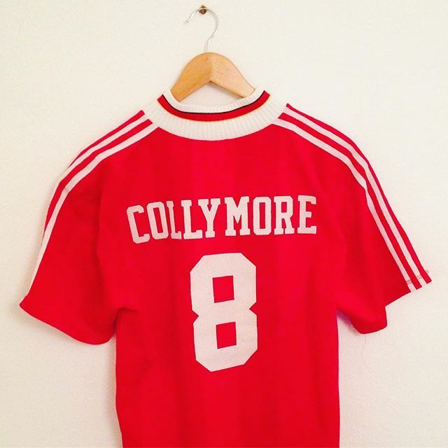 timeless design d51ce 26f26 Iconic vintage Adidas Liverpool home shirt with collymore 8 ...