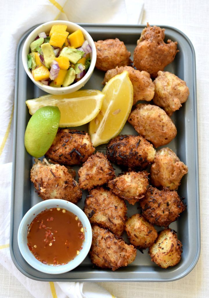 Crispy Coconut Cauliflower #seafooddishes