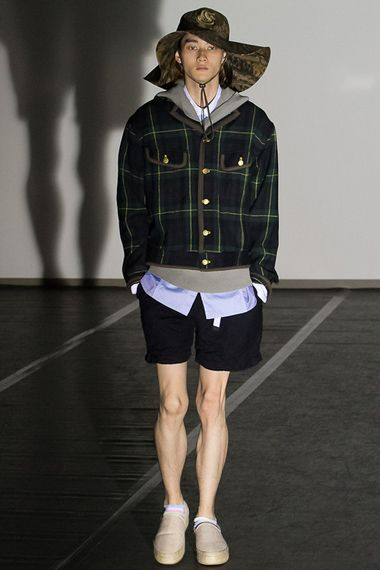 Ignore his crazy styling - look at the clothes!  GANRYU COMME des GARCONS 2013 Spring/Summer Collection | Hypebeast