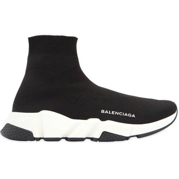 e68ed2dec9d Balenciaga Men Match Cotton Canvas Sneakers (9