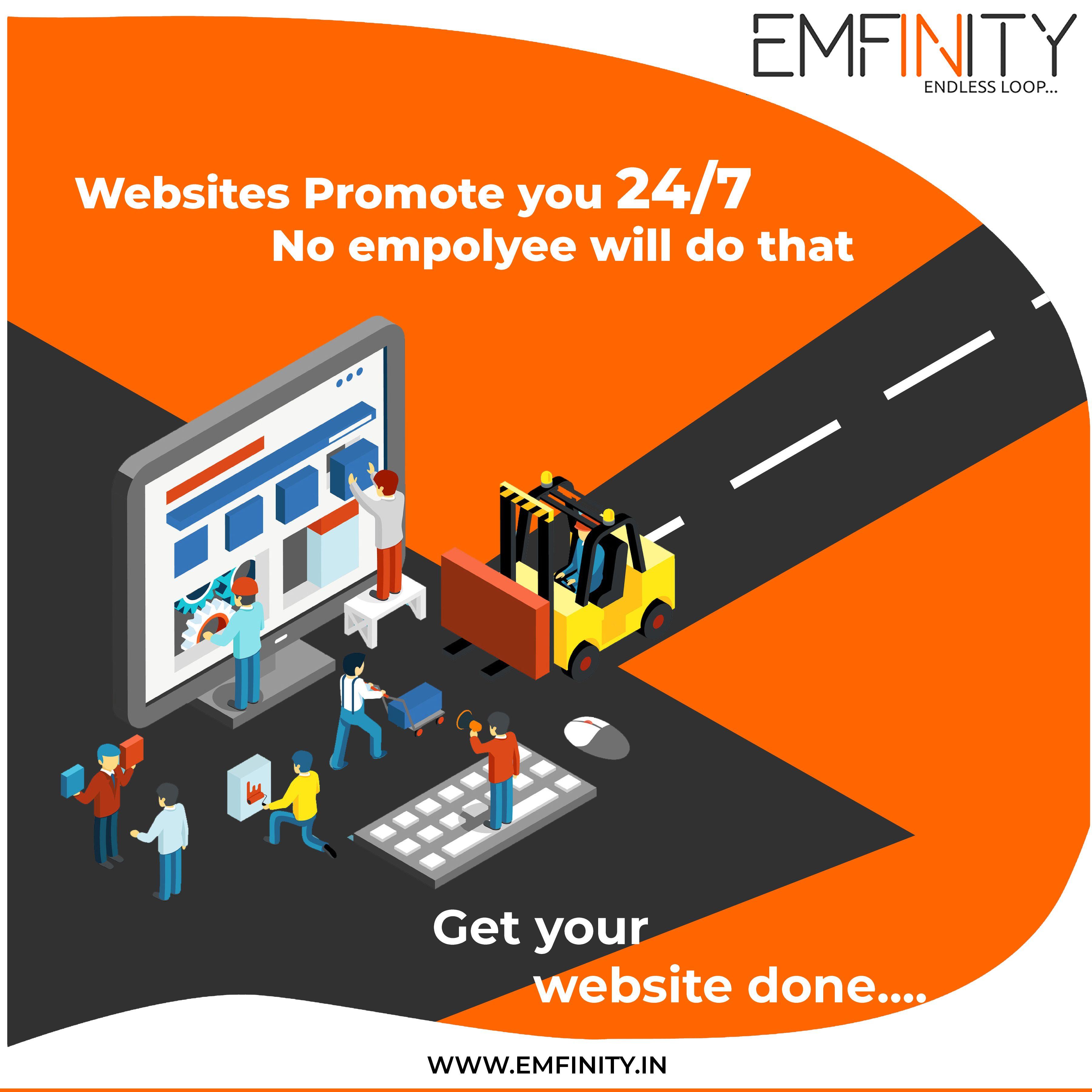 Emfinity It Solutions Is An Online Leading Web Design Web Development Digital Marketing Mob Corporate Identity Design Mobile App Development App Development