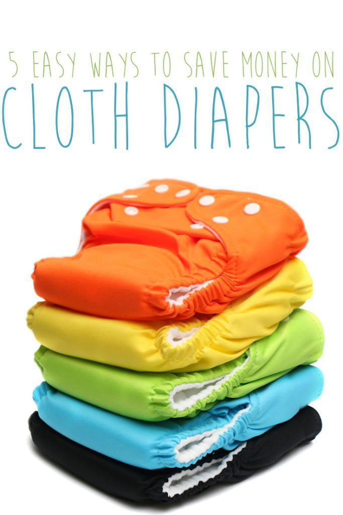 5 Easy Ways to Save Money on Cloth Diapers Diapers, Diapers cost