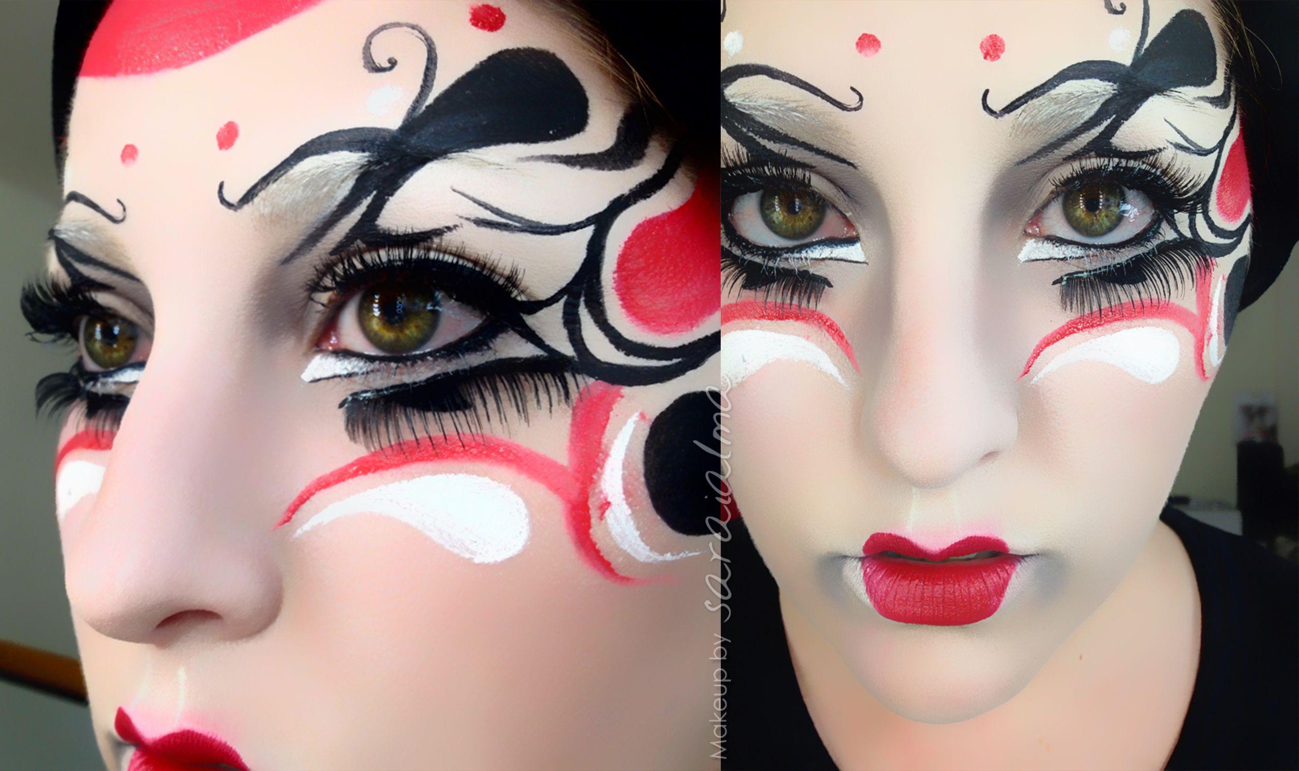 carnaval #maquillake #makeup #masquerade #mascara #fantasymakeup ...
