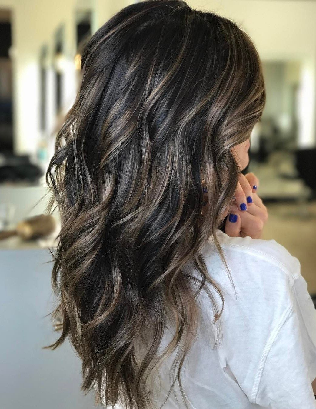 90 balayage hair color ideas with blonde brown and caramel highlights cheveux et coiffures. Black Bedroom Furniture Sets. Home Design Ideas