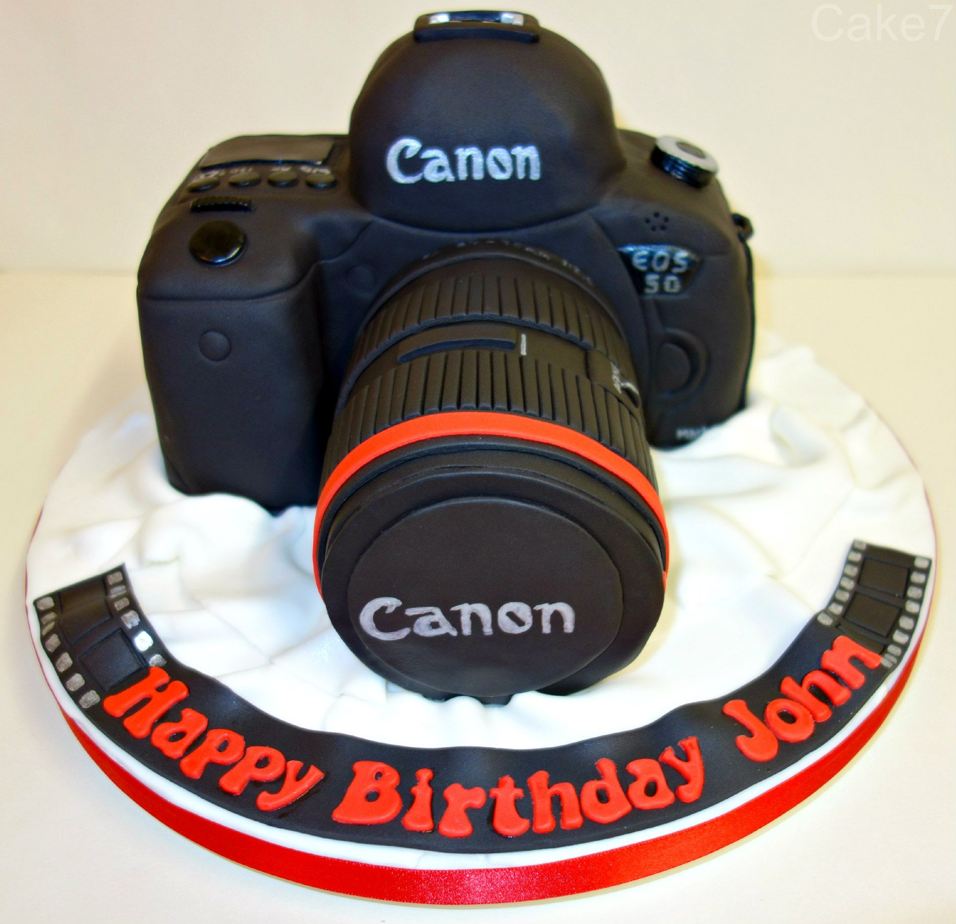 Awe Inspiring Canon 5D Camera Cake Cakeseven Wix Facebook Cake7 Funny Birthday Cards Online Barepcheapnameinfo